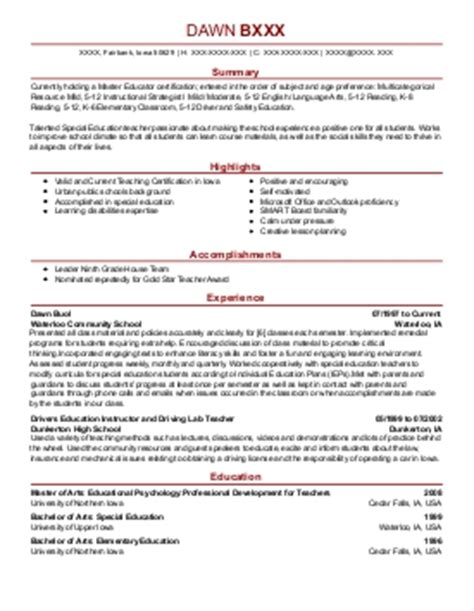 family consumer science resume exle wheeler
