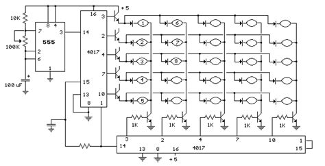 Light Flashing Electronic Circuits