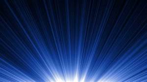 Blue Light Rays - HD Background Loop - YouTube