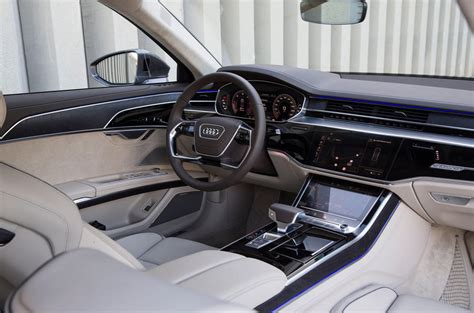 audi a8 interior audi a8 review 2018 autocar