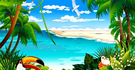Animated Tropical Wallpaper - tropical animated hd wallpaper high definitions wallpapers