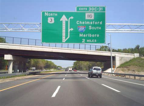 route massachusetts sign