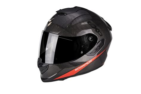 scorpion exo 1400 air scorpion exo 1400 air air carbon helme 2018 motorrad news