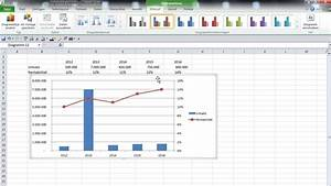 Excel Diagramm Mit 2 Achsen Erstellen