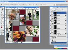 Photoshop Collage Template cyberuse