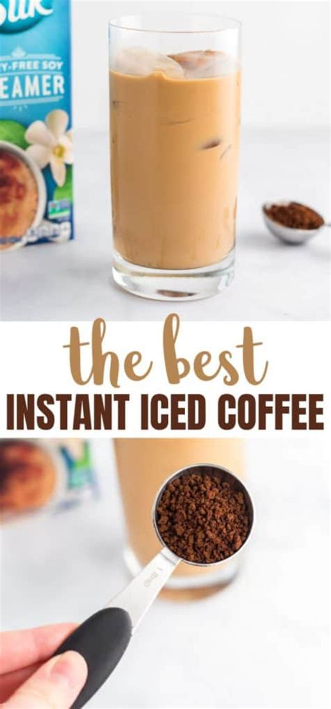 Start with cold brew coffee. Best Easy Instant Iced Coffee Recipe - Build Your Bite