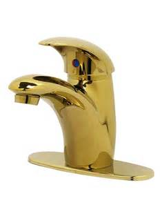 Polished Brass Bathroom Faucets Single Handle by Nerino Single Lever Bathroom Faucet Polished Brass Nr036