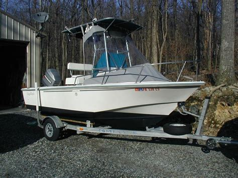Edgewater Boats Contact by 1993 Edgewater 18 Center Console The Hull