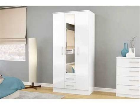 White Wardrobe With Drawers by White Wardrobe With Drawers And Shelves