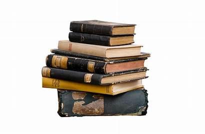 Transparent Books Stack Pile Shelf Literature Livres