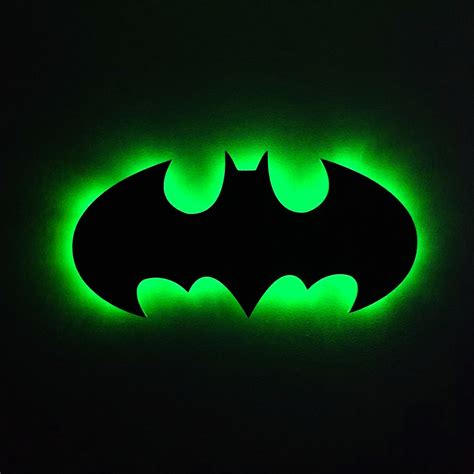 batman l batman led light batman light batman wall light batman decor lights