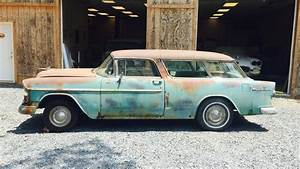 1955 Chevy Nomad  Perfect Canvas