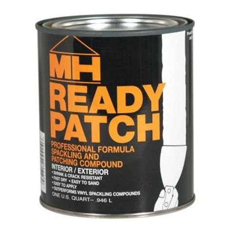 wood floor patching compound zinsser 1 qt ready patch spackling and patching compound