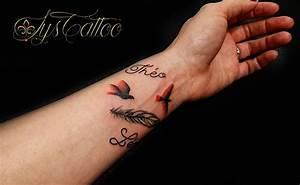 Tatouage Prénom Poignet : tatouage rose avant bras avec prenom ~ Melissatoandfro.com Idées de Décoration