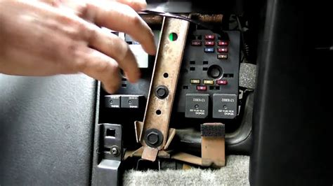 repair windshield wipe control 1997 saturn s series navigation system emergency windshield wiper switch youtube