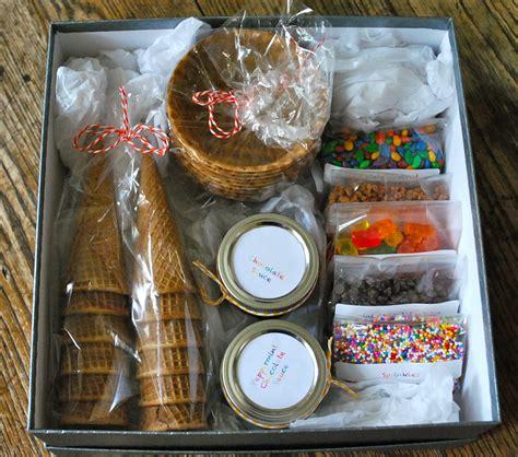 a pinterest christmas diy ice cream sundae kit the