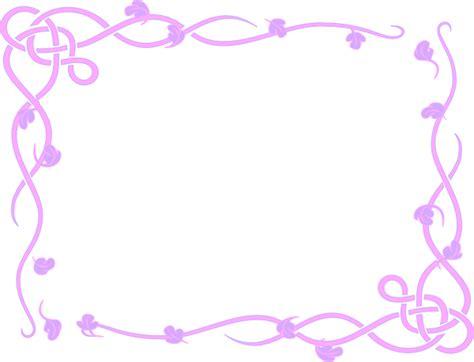leafy frame purple clip art  clkercom vector clip art