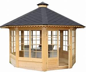 Pavillon Holz 4x4 : gartenpavillon aus holz ~ Whattoseeinmadrid.com Haus und Dekorationen