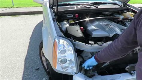 7 how to replace 2008 srx headlight for