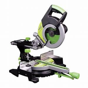 Scie Sur Table Evolution : evolution scie onglet radiale multi usages fury3xl 255mm ~ Melissatoandfro.com Idées de Décoration