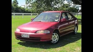 1992 Honda Civic Manual Vtec Sedan  No Reserve