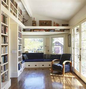 37 home library design ideas with a jay dropping visual for Home library ideas
