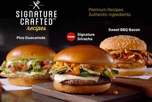 McDonald's Has Added Signature Crafted Sandwiches To Its ...