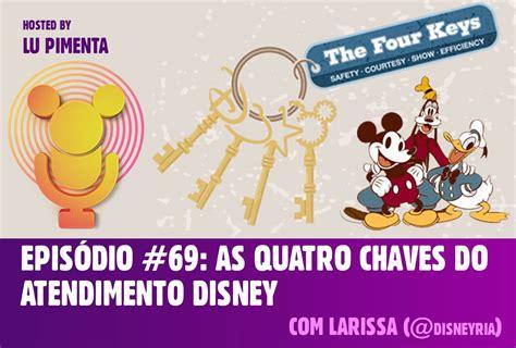 Episódio #69: As quatro chaves do atendimento Disney ...
