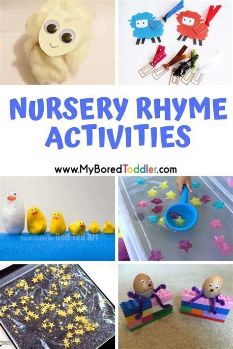 nursery rhyme themed activities  toddlers nursery