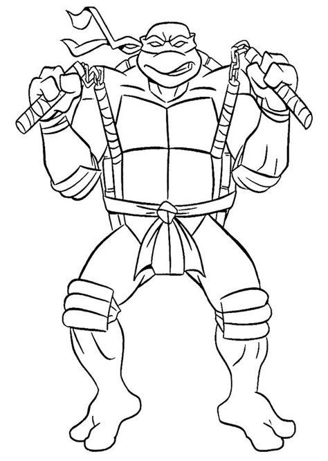 Imagen de dibujosparacolorear en Tortugas Ninja para