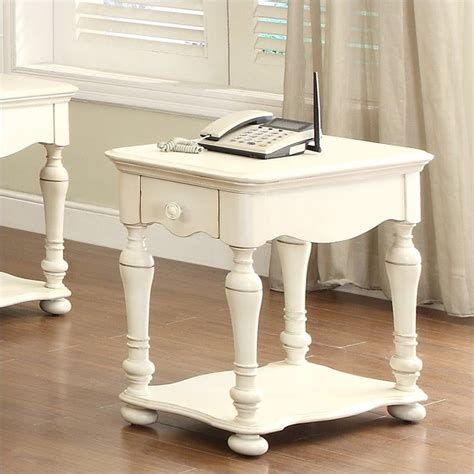 white end tables for living room riverside furniture placid cove chairside table in