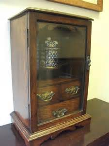 antique humidor cabinet for sale oak smokers cabinet with original humidor antiques atlas