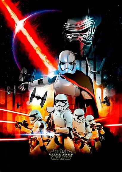 Order Poster Wars Star Force Awakens Collections
