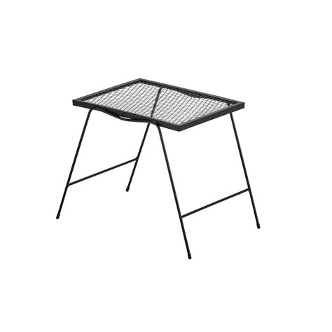 hton bay nantucket metal outdoor accent table 3903000