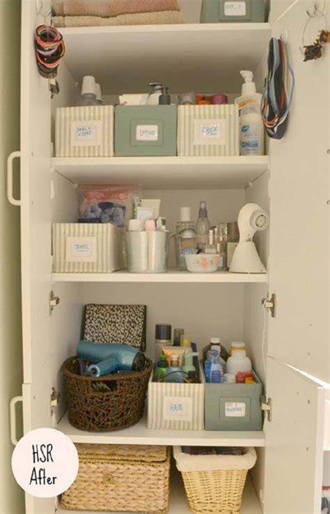Bathroom Closet Organization Ideas by 1000 Images About Bathroom Linen Closet Organizing Ideas