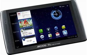 Archos 70b Internet Tablet Specifications  User Guide