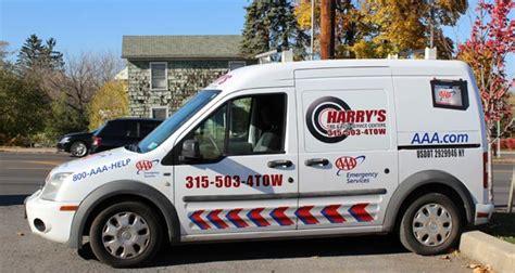 harrys tire service center auburn ny towing road