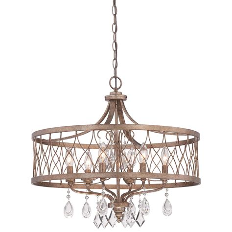 24 inch drum l shade for chandelier west liberty olympus gold 24 inch six light drum pendant