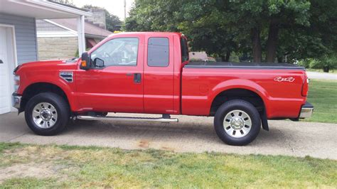 2008 Ford F250 Xlt Supercab 4x4