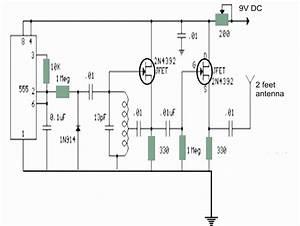 Fm Transmitter Diagram