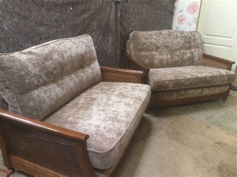 Ercol Bergere Sofa by Pair Of Modern Ercol Quot Bergere Quot Sofas In Falkirk Gumtree