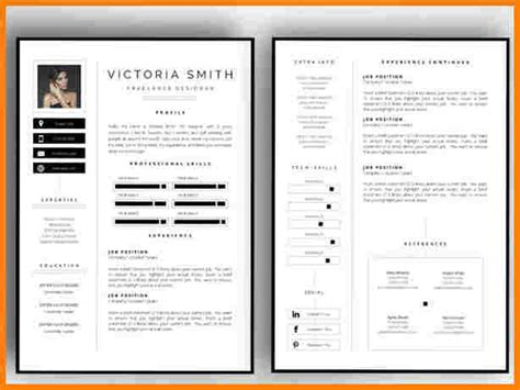 2 page resume template pages templates resume 2 page
