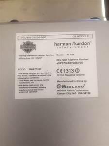Harley Davidson Harman    Kardon Radio With Xm And Cb