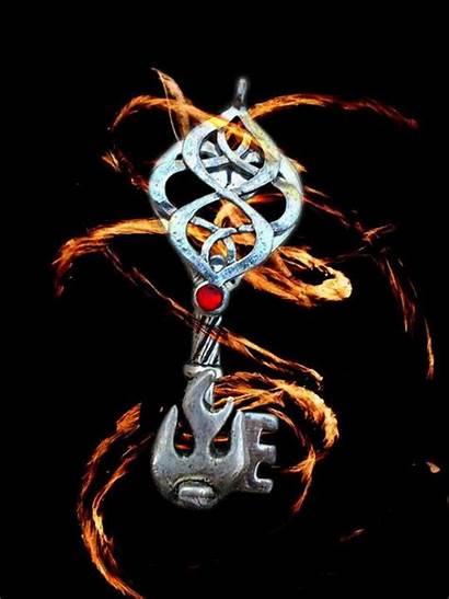 Elemental Fire Spirit Key Deviantart Magic Element