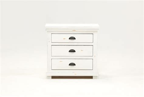 sinclair white nightstand living spaces