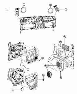 Dodge Nitro Amplifier  Radio   8 Infinity Speakers W  Subwoofer