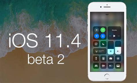 apple udostępnia ios 11 4 beta 2 z wiadomościami w icloud
