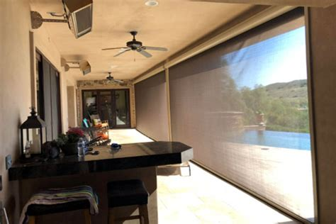 American Blinds And Draperies Hayward by Patio Screens Shades Clearview Norcal