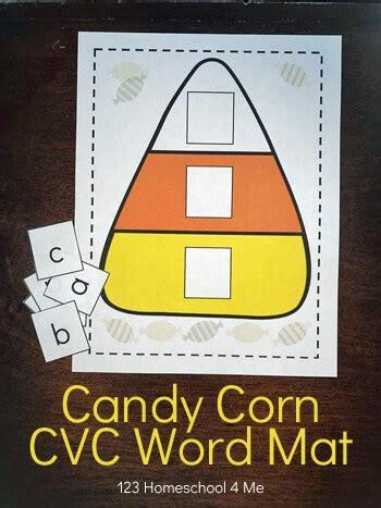candy corn cvc word mat alphabet tiles