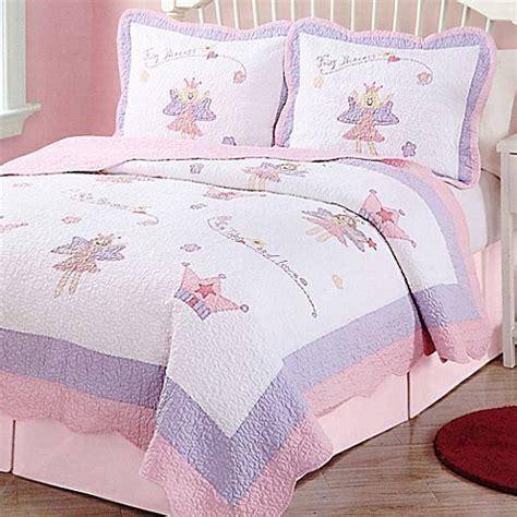 Fairy Princess Garden Quilt Set   Bed Bath & Beyond